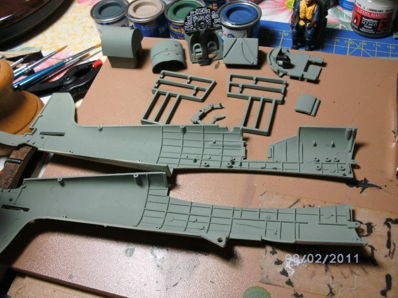 Spitfire Mk.22/24 in 1:32 von Revell Pictsp17