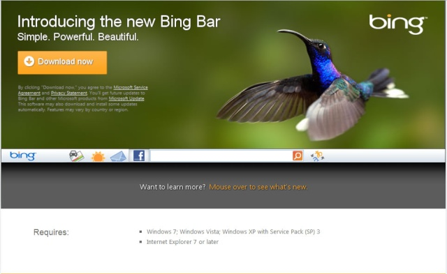 Bing Introducing the new Bing Bar Bingto10