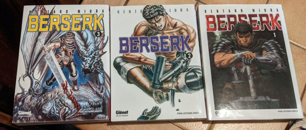 Lot n°1 : Tomes 1,2,3 Berserk par Raion 12780110