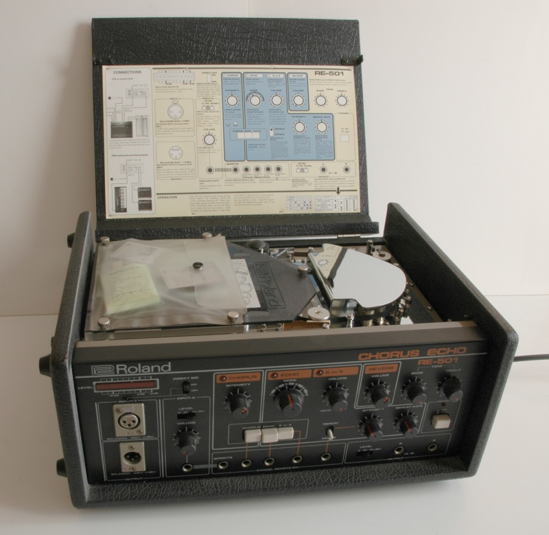 Space Echo Roland RE serie ........ Dsc_3011