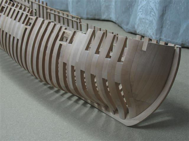 La Belle 1684 scala 1/24  piani ANCRE cantiere di grisuzone  Img_7614