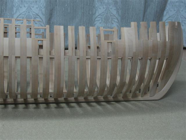 La Belle 1684 scala 1/24  piani ANCRE cantiere di grisuzone  Img_7615