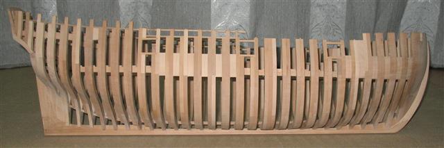 La Belle 1684 scala 1/24  piani ANCRE cantiere di grisuzone  Img_7617
