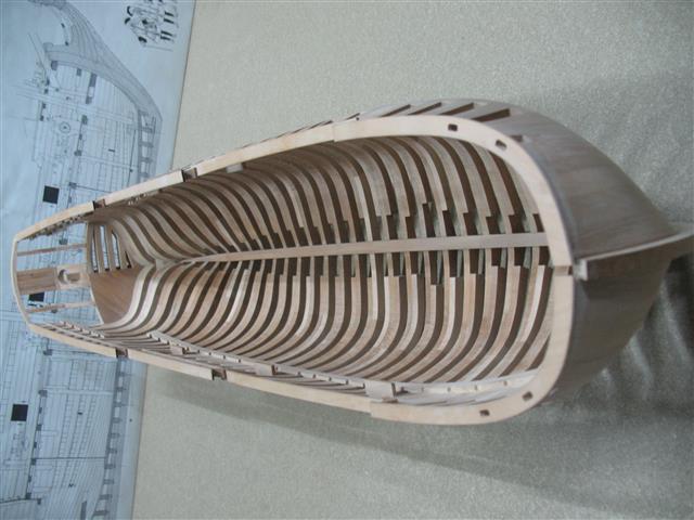 La Belle 1684 scala 1/24  piani ANCRE cantiere di grisuzone  Img_7712