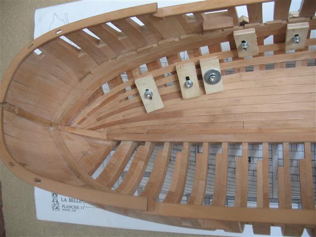 La Belle 1684 scala 1/24  piani ANCRE cantiere di grisuzone  Img_7810