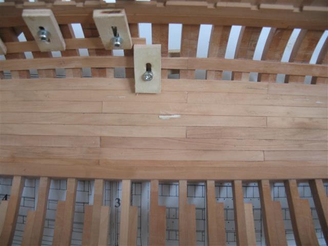 La Belle 1684 scala 1/24  piani ANCRE cantiere di grisuzone  Img_7812