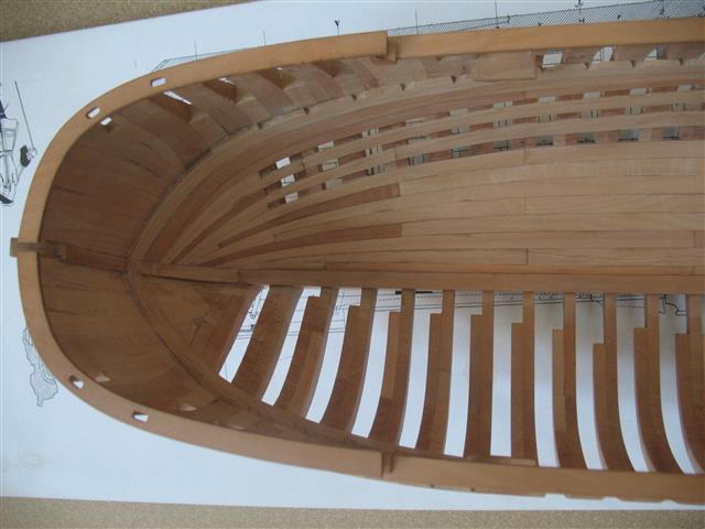 La Belle 1684 scala 1/24  piani ANCRE cantiere di grisuzone  Img_7813