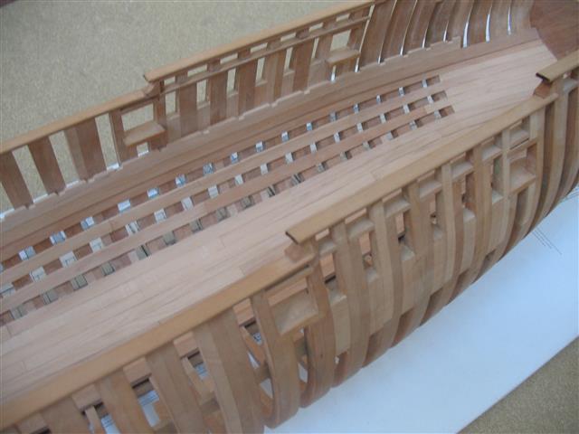 La Belle 1684 scala 1/24  piani ANCRE cantiere di grisuzone  Img_7815