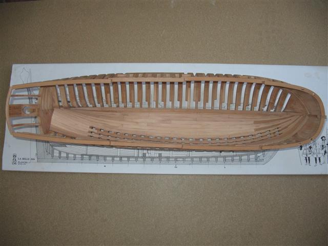 La Belle 1684 scala 1/24  piani ANCRE cantiere di grisuzone  Img_7817