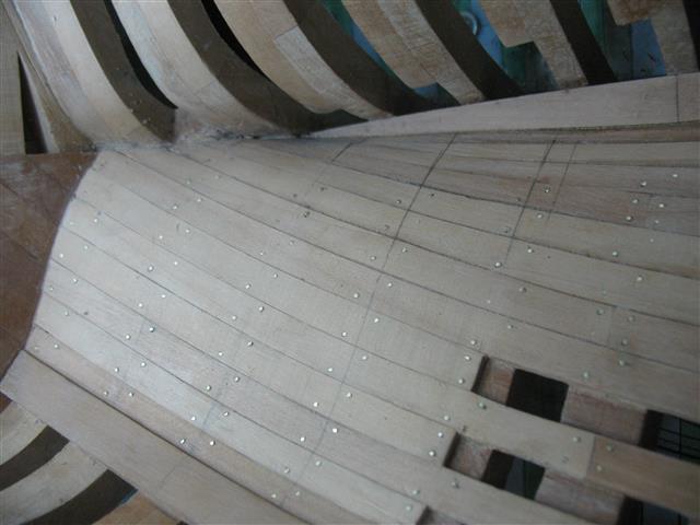 La Belle 1684 scala 1/24  piani ANCRE cantiere di grisuzone  Img_7818