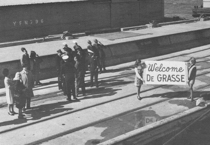 LE CROISEUR DE GRASSE ET L'HISTOIRE Yorkto10
