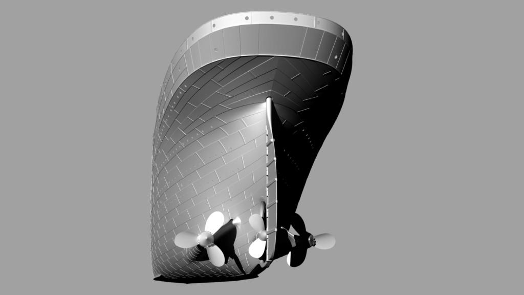 titanic - Titanic scala 1/144 di DELUX - Pagina 2 3-4_po10