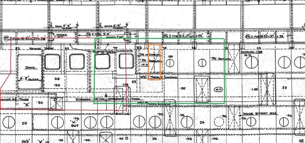 titanic - Titanic scala 1/144 di DELUX - Pagina 2 Porte_11