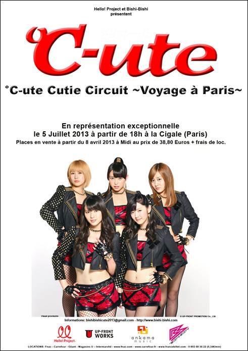 °C-ute en concert à Paris le 5 juillet Cute10