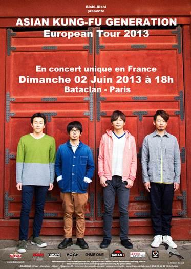 ASIAN KUNG FU GENERATION en concert à Paris le 2 juin à Paris Image010