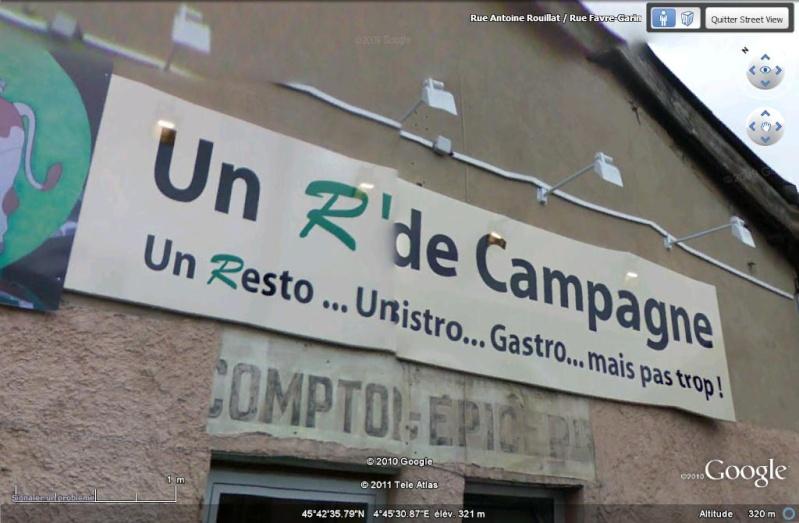 STREET VIEW : les façades de magasins (France) Enseig10
