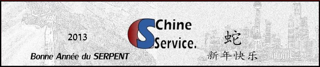 CHINE SERVICE à SHANGHAI