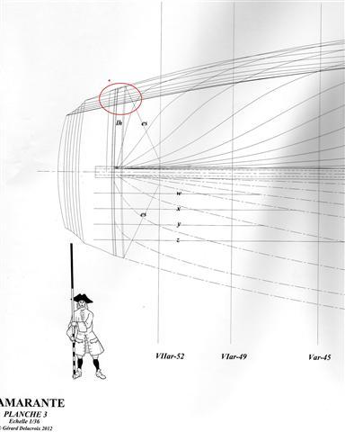 L'AMARANTE corvetta 12 cannoni 1\36 G.DELACROIX Img01712