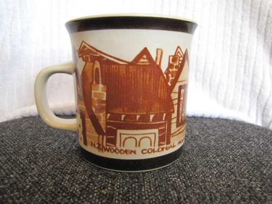 Richmond pottery colonial houses  & Owls patterns Small310