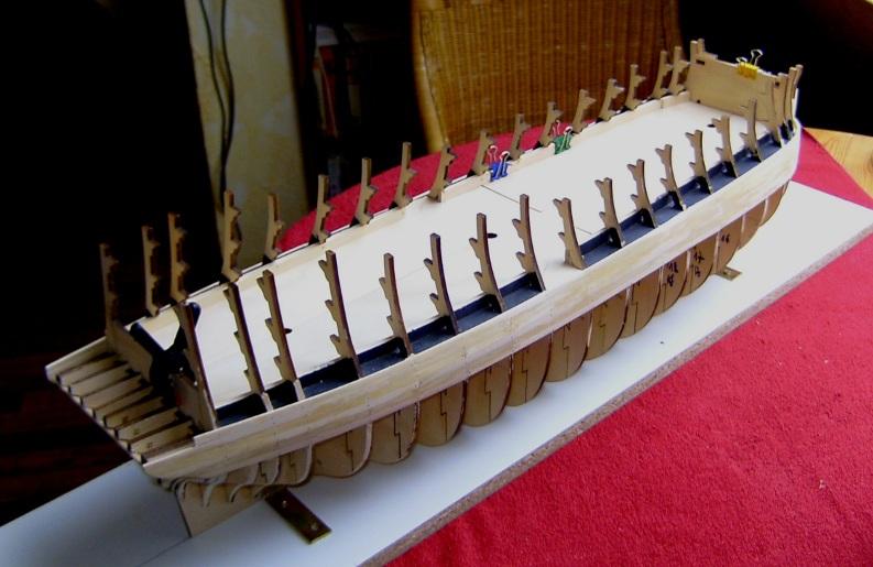 Zebra-Baubericht: HMS Victory v DeAgostini Rumpf_11