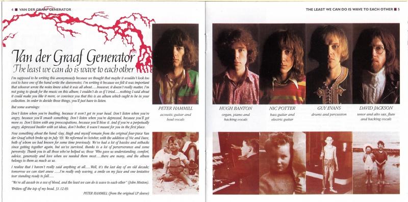 Peter Hammill & Van der Graaf Generator Bookle10