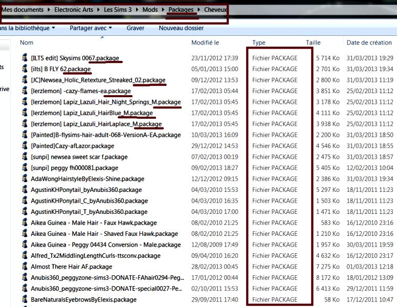 Savoir utiliser Merlin pour trier ses fichiers (Sims3Pack et Packages) Sans_t25