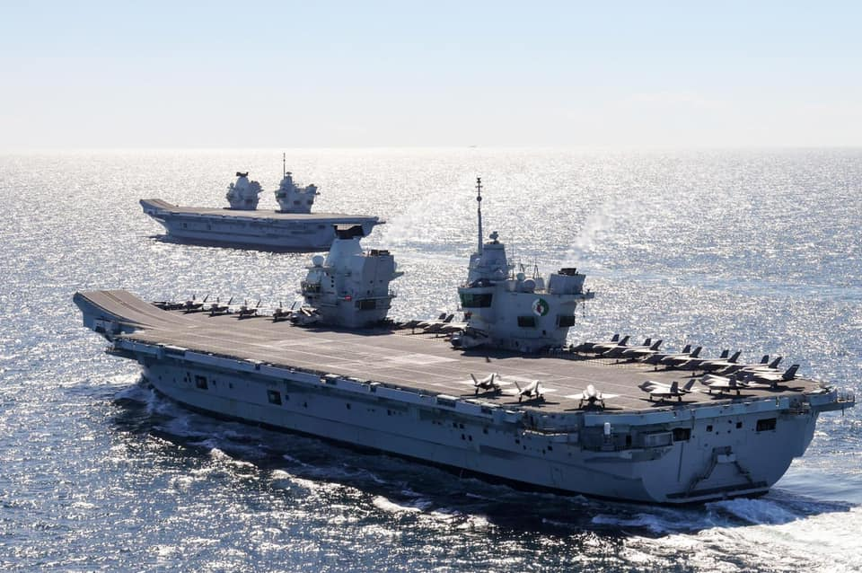 Aircraft Carrier (HMS Queen Elizabeth & HMS Prince of Wales) - Page 35 10162