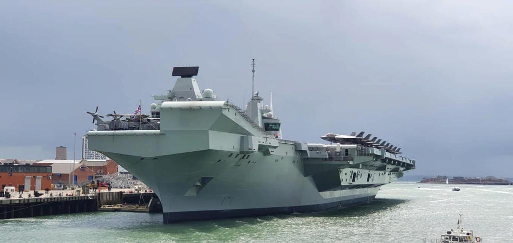 HMS Queen Elizabeth CSG21 10171
