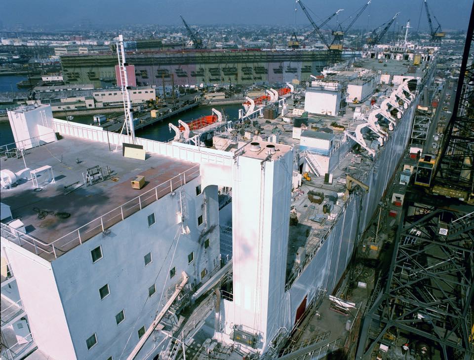 construction de navire hopital en Amérique  1110