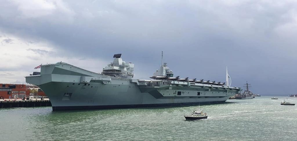 HMS Queen Elizabeth CSG21 12169