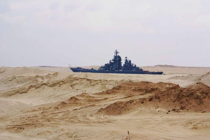 Le Canal de Suez 13186