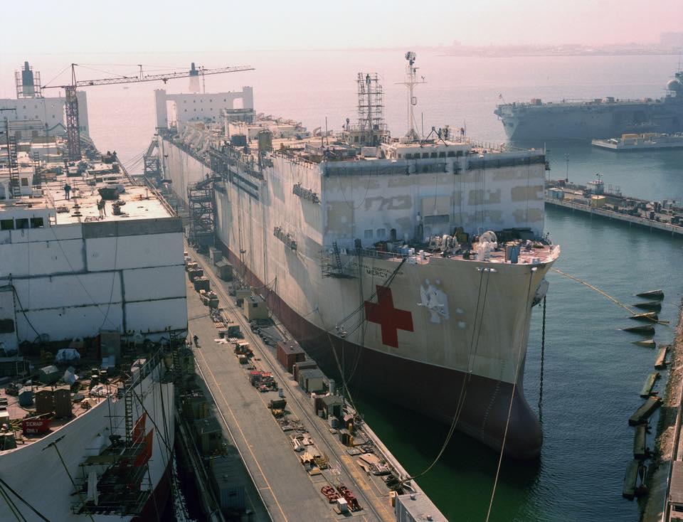 construction de navire hopital en Amérique  1410