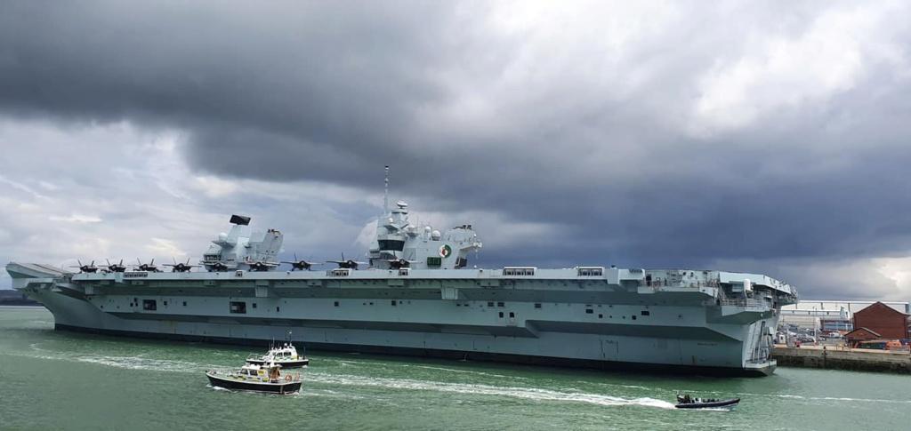 HMS Queen Elizabeth CSG21 15124