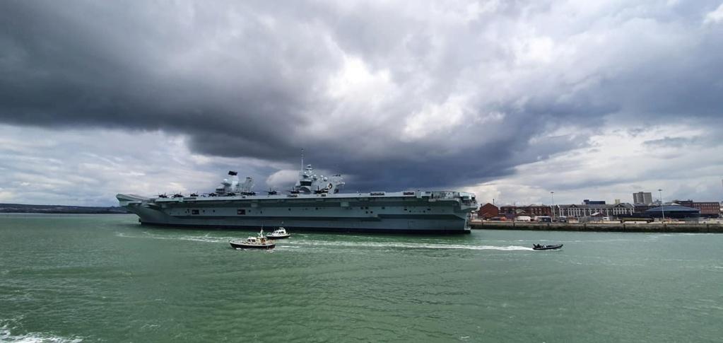 HMS Queen Elizabeth CSG21 16115