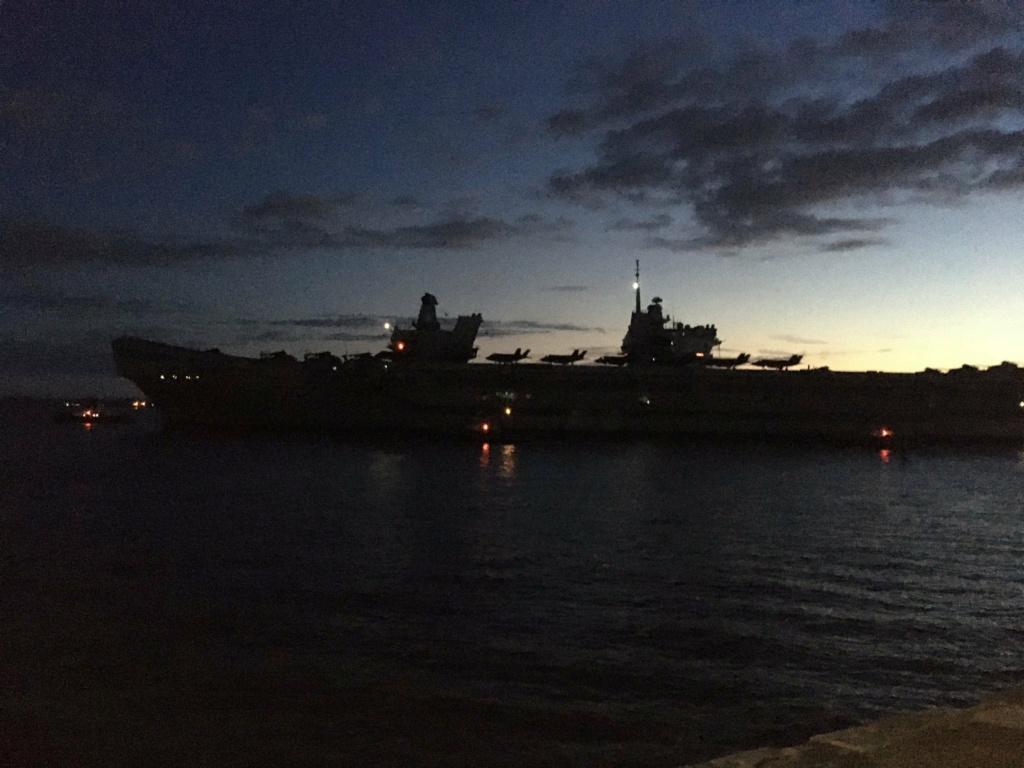 HMS Queen Elizabeth CSG21 1790