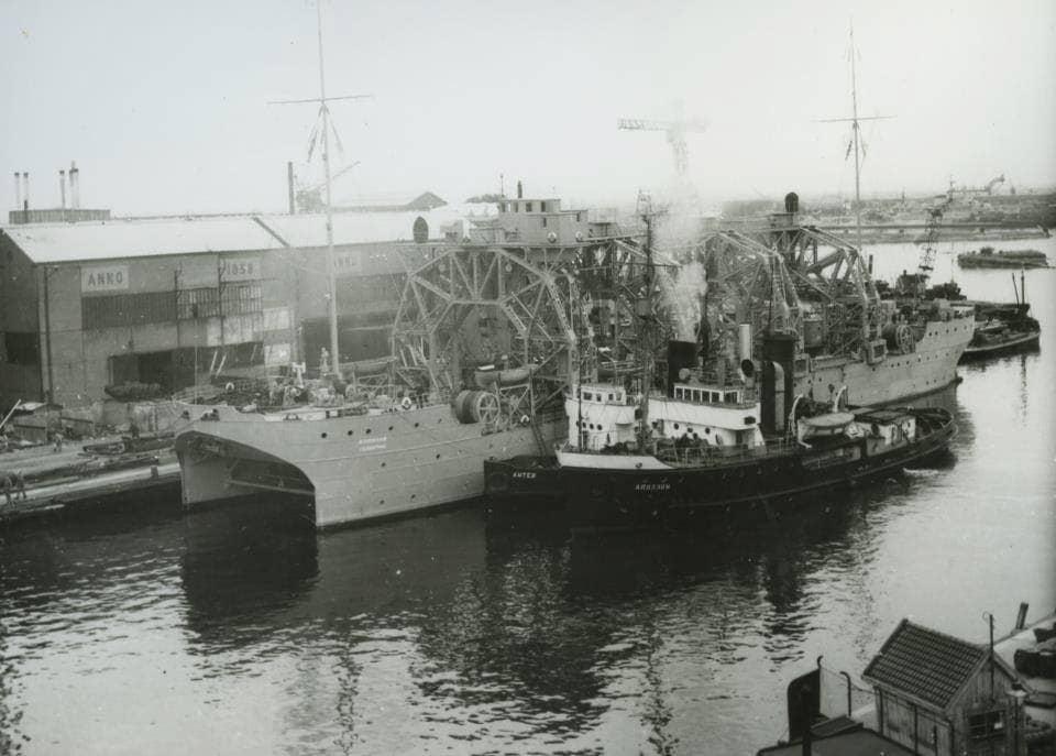 les plus vieux navires de guerre toujours en activités 1797