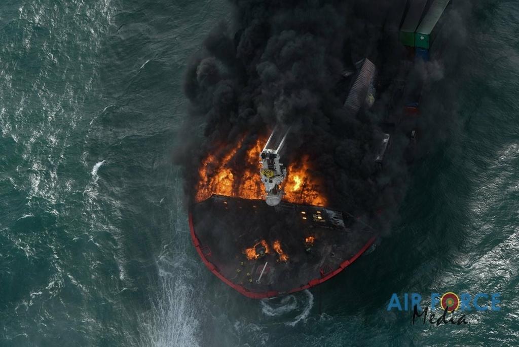 Explosion et incendie sur un pétrolier près du Sri Lanka - Page 4 1869