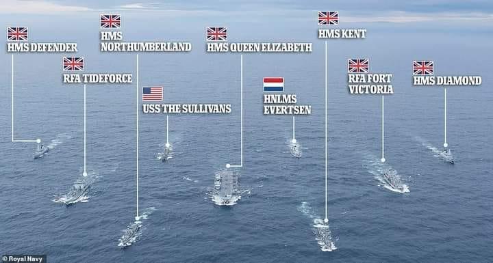 HMS Queen Elizabeth CSG21 1903
