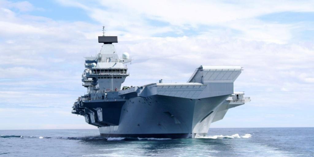 HMS Queen Elizabeth CSG21 22116
