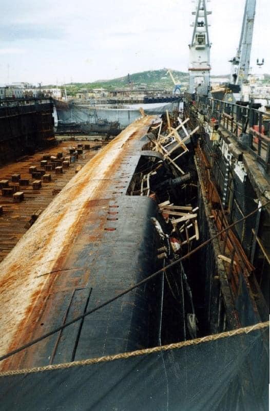 navires au déchirages 2549