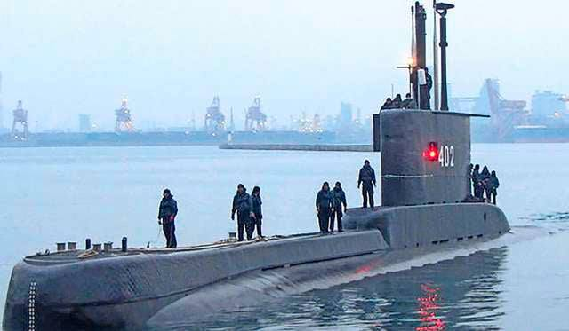 Sous-marin avec 53 membres d'équipage portés disparus  3021
