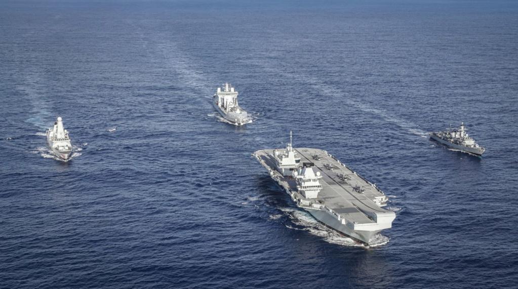 HMS Queen Elizabeth CSG21 3046
