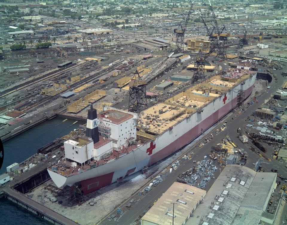 construction de navire hopital en Amérique  411