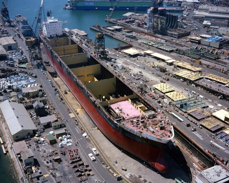 construction de navire hopital en Amérique  510