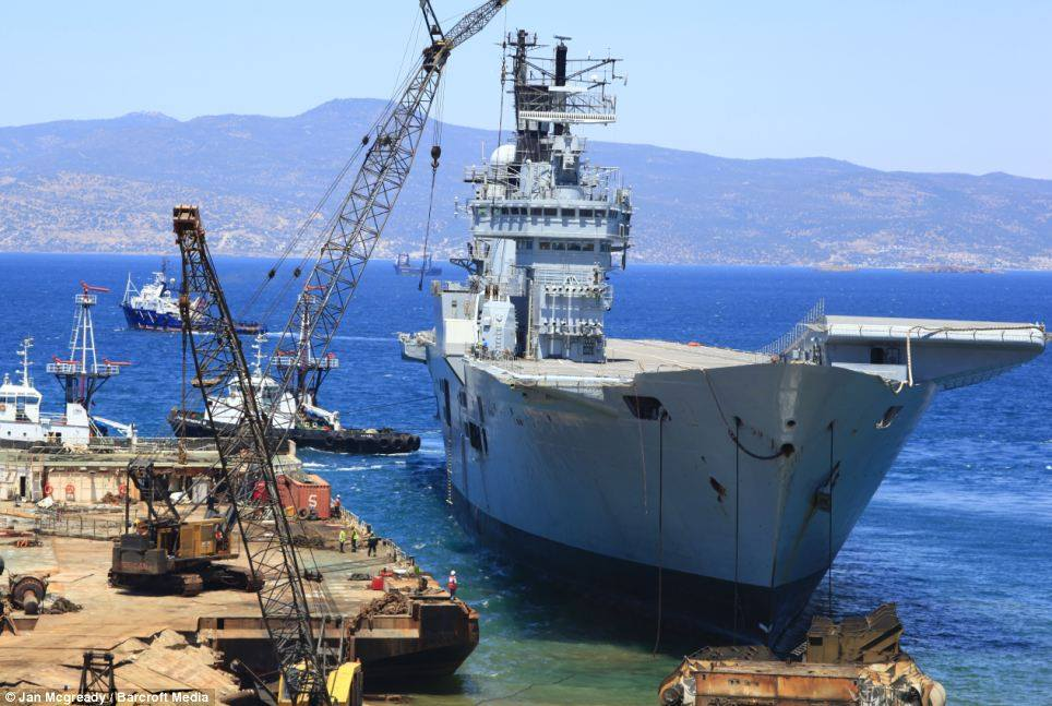 navires au déchirages 5301