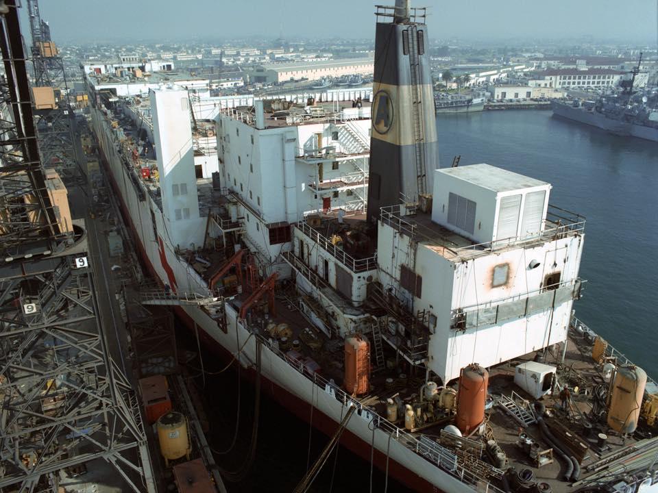 construction de navire hopital en Amérique  610