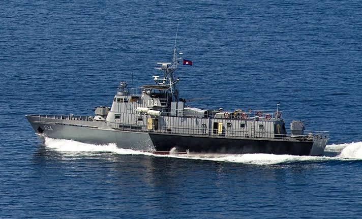 marine royale cambodgienne 6134