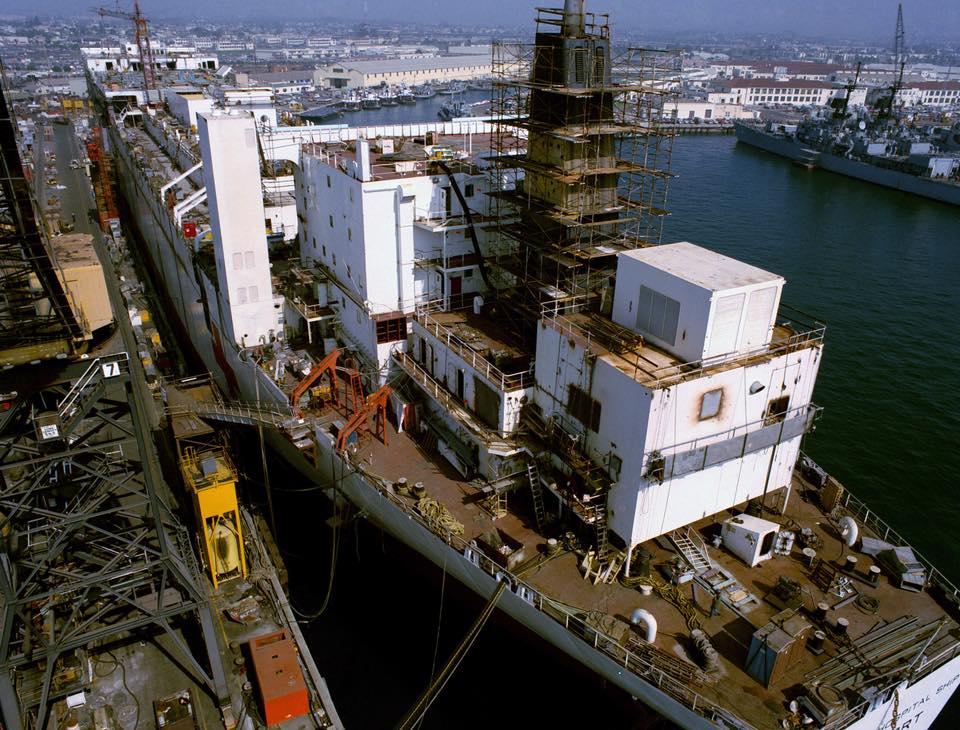 construction de navire hopital en Amérique  710