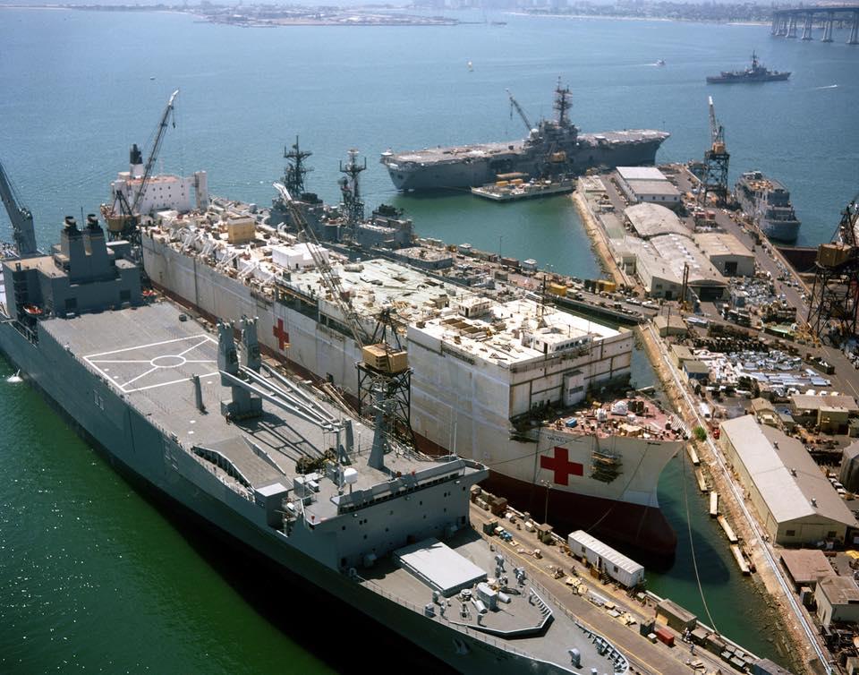 construction de navire hopital en Amérique  810