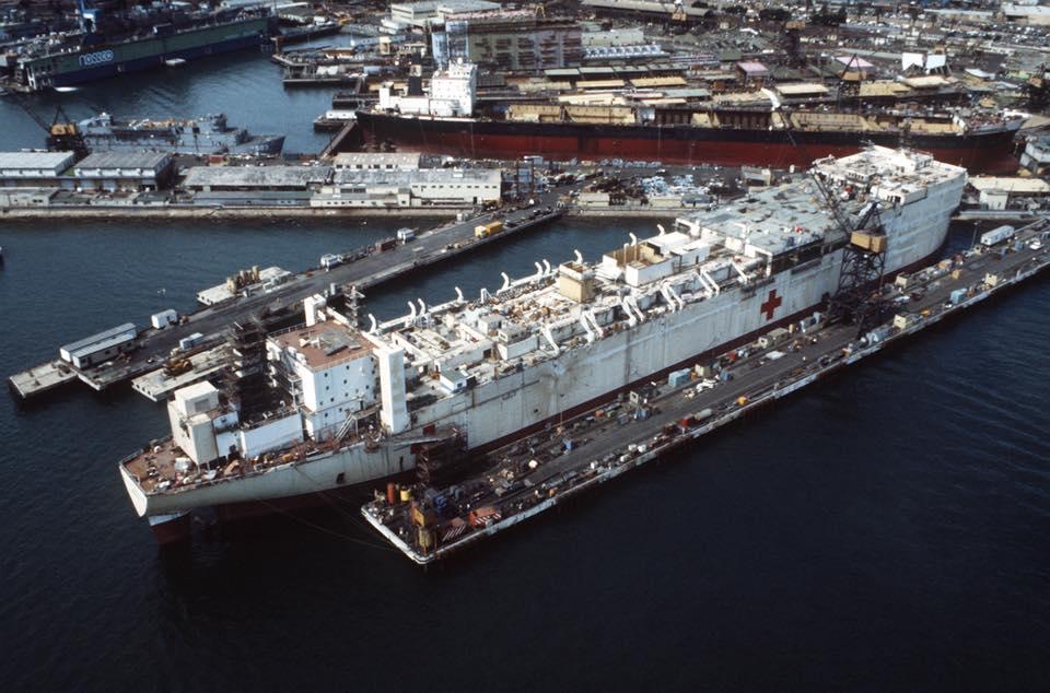 construction de navire hopital en Amérique  910